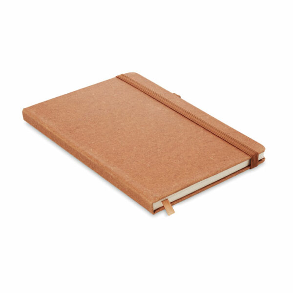 A5 notebook van recycled PU